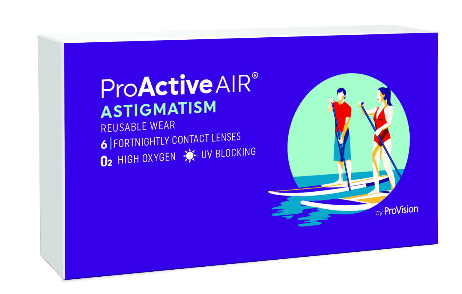 ProActive Air Astigmatism - 3 Month Supply